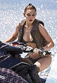 Gigi Hadid sexy posing for V Magazine Fall