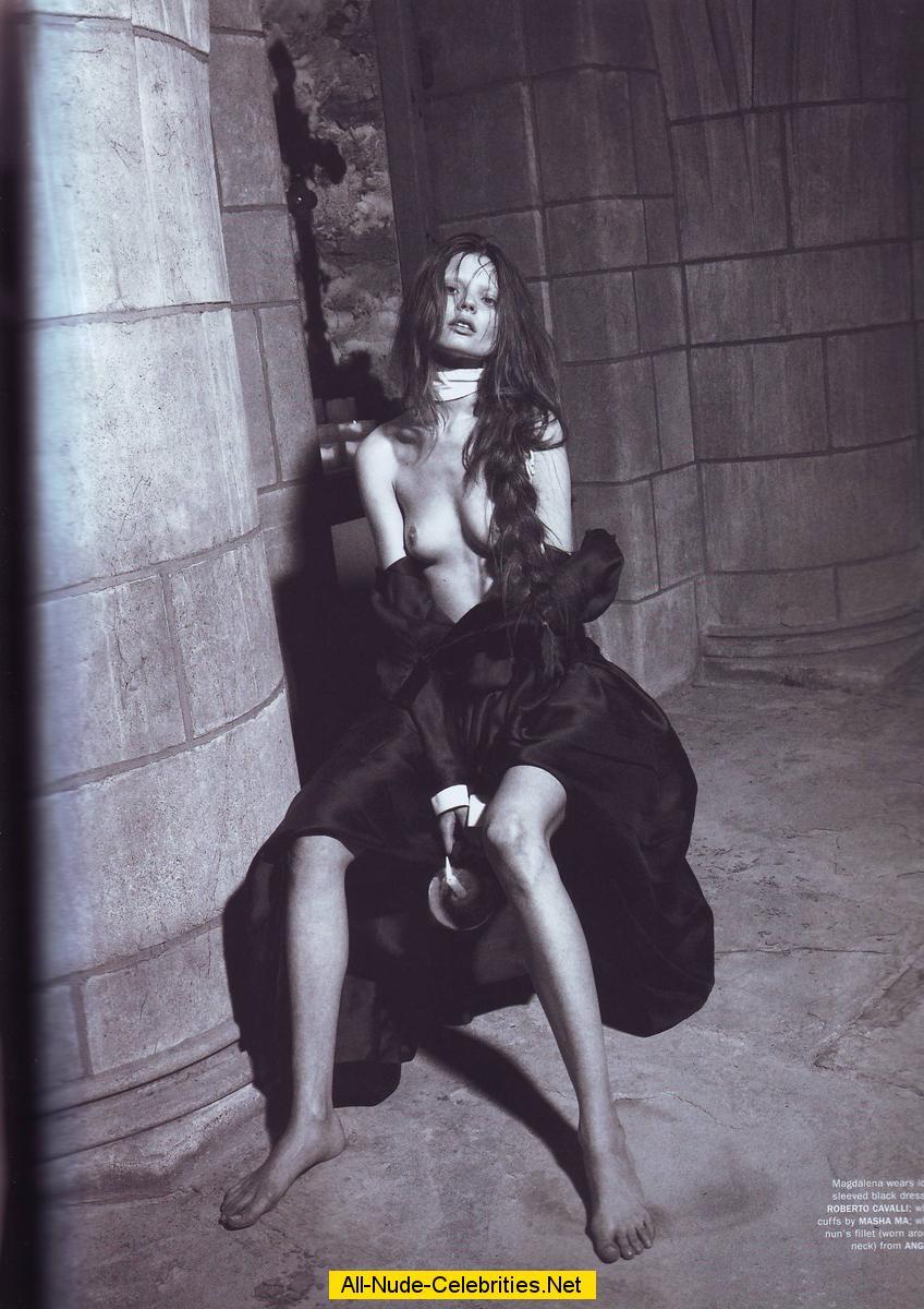 Magdalena Frackowiak  nackt