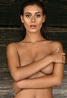 Alejandra Guilmant sexy and braless scans