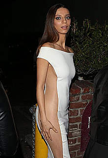 Angela Sarafyan sexy dressed paparazzi shots