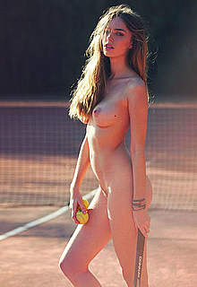 Anthea Page fully nude posing photoshoot