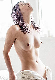 Caroline Graham fully nude posing photos