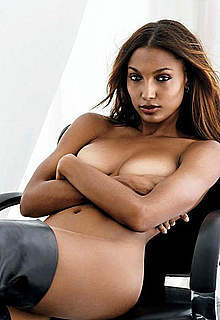 Jasmine Tookes sexy, toples and undressed