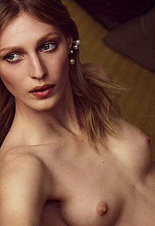 Julia Nobis sexy and topless magazines images