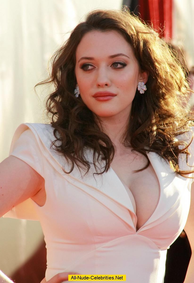Hot kat dennings cleavage consider, that