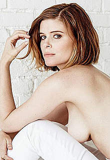 Kate Mara sexy and topless scans from mags