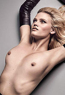 Lara Stone sexy,topless and fully nude scans