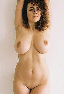 Busty Leila Lowfire topless and fully nude