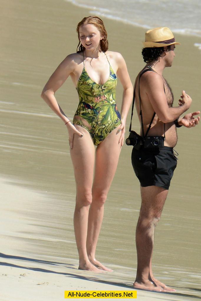 Lily cole bikini