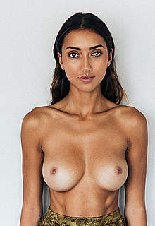 Shannon Lawson various topless posing photos