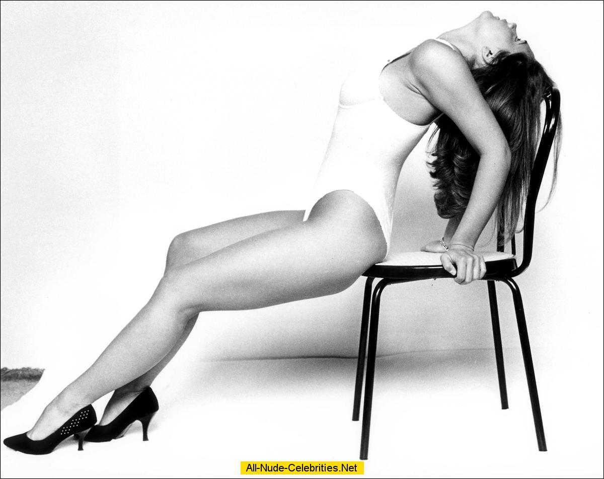 Victoria Beckham sexy black-and-white scans from mags